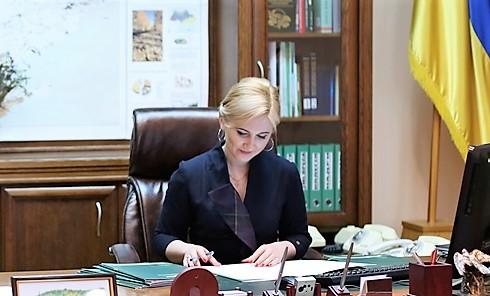 Прикарпатку Христину Юшкевич поновили напосаді голови Держлісагентства